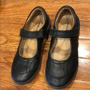 Black Stride Rite Mary Janes